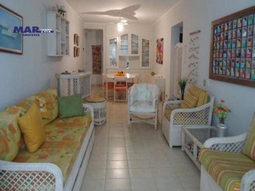 Imagem 1 de 14 de Apartamento Residencial À Venda, Centro, Guarujá - . - Ap7334