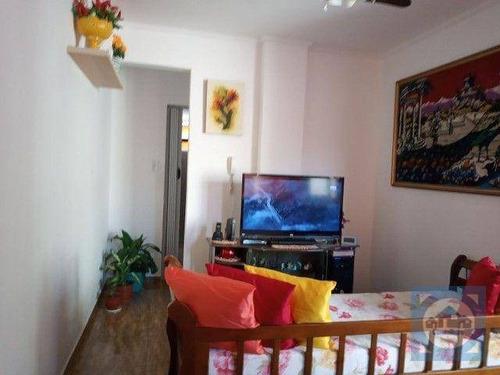 Imagem 1 de 20 de Apartamento Com 1 Dormitório À Venda, 45 M² Por R$ 180.000,00 - Centro - São Vicente/sp - Ap5976