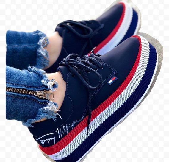 Zapatos Deportivos Con Plataforma Nueva Colección Para Mujer