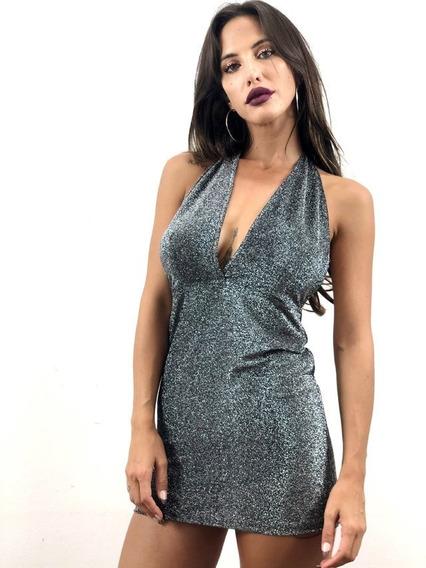 Vestido Lurex Sexy Fiesta