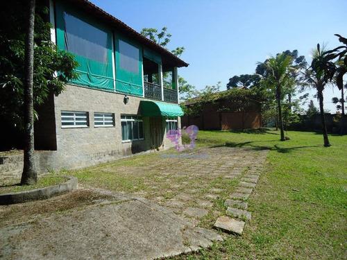 Chácara Com 3 Dormitórios À Venda, 4400 M² Por R$ 2.200.000,00 - Chacara Dora - Araçariguama/sp - Ch0002