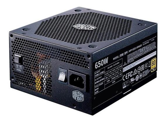 Fonte Cooler Master V650 Full Modular Gold 80 Plus 650w Atx