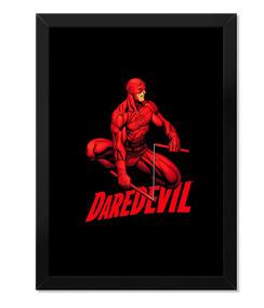 Poster Daredevil Demolidor Com Moldura