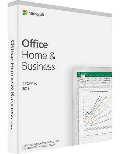 Pacote Office Home Business 2019 32/64bits T5d-0324