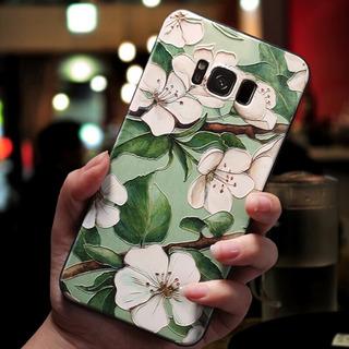 Ldlihua - A9 2018 - Capa De Flores De Relevo 3d Para Samsung