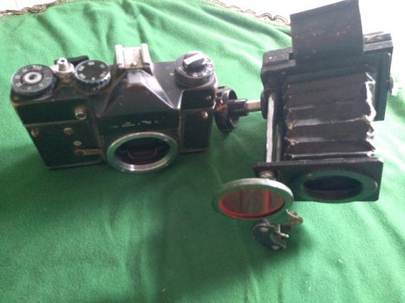 Antiga Máquina Fotográfica Para Restauração