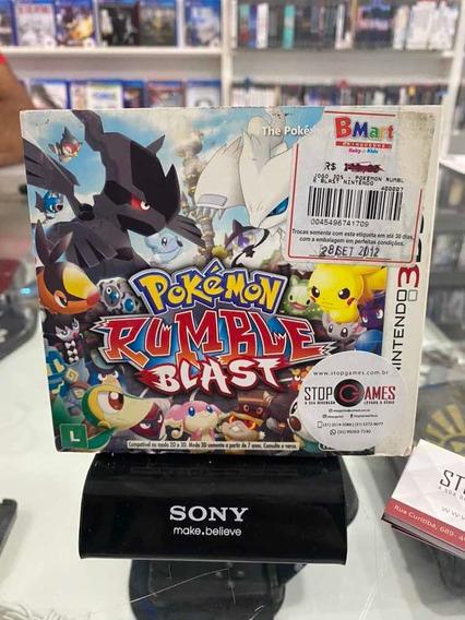 Jogo Pokémon Rumble Blast - Nintendo 3ds