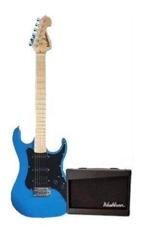 Washburn Gwlx7 Azul - Pack De Guitarra