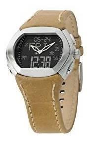 Relógio adidas Adh1187 Pulseira De Couro Original