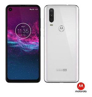 Moto One Action Motorola , Com Tela De 6,24