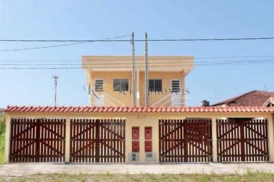 Casa Com 2 Dorms, Jardim Regina, Itanhaém - R$ 140.000,00, 49m² - Codigo: 345 - V345