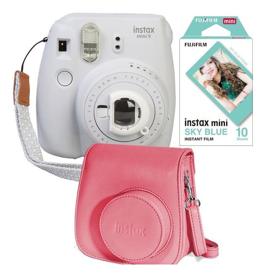 Fuji Instax Mini 9 Polaroid Blanca Ahumada 10 Fotos Cartera