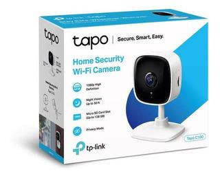 Camara Ip Wifi De Seguridad Full Hd Audio Tapo C100 Tp-link