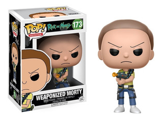 Funko Pop Morty Armado #173 Rick And Morty Jugueterialeon