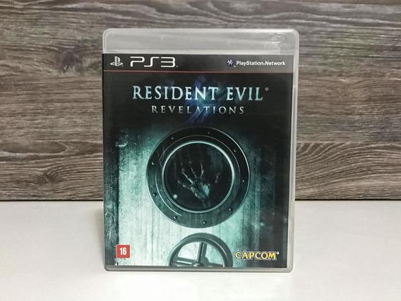 Resident Evil Revelations - Ps3 - Mídia Física Português