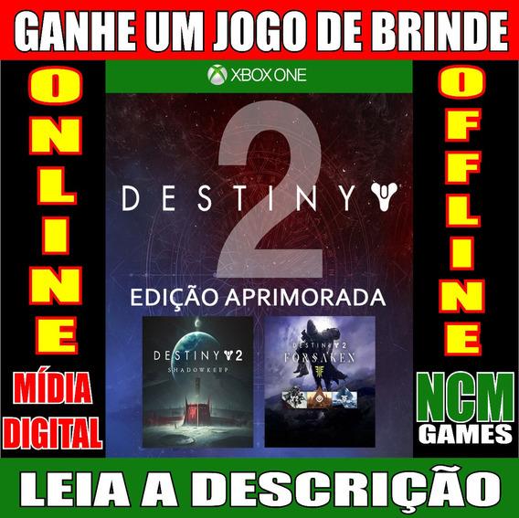 Destiny 2: Edição Aprimorada Xbox One + Brinde