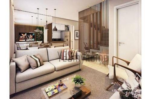 Apartamento Duplex Com 3 Dormitórios À Venda, 98 M² Por R$ 760.000,00 - Vila Izabel - Curitiba/pr - Ad0060