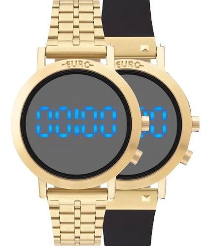 Imagem 1 de 6 de Relógio Euro Feminino Fashion Fit Dourado Eubj3407aa T4p
