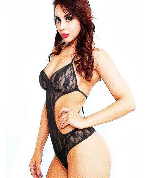 Body Mujer Encaje Puntilla Lencería Sexy Talle Grande Xl