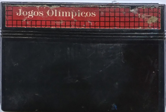 Cartucho Jogos Olimpicos Master System