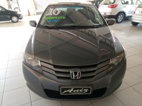 Honda City Lx 1.5 Completo 2010 Cinza!