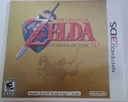 Jogo Nintendo 3ds The Legend Of Zelda Ocarina Of Time_ds Xl