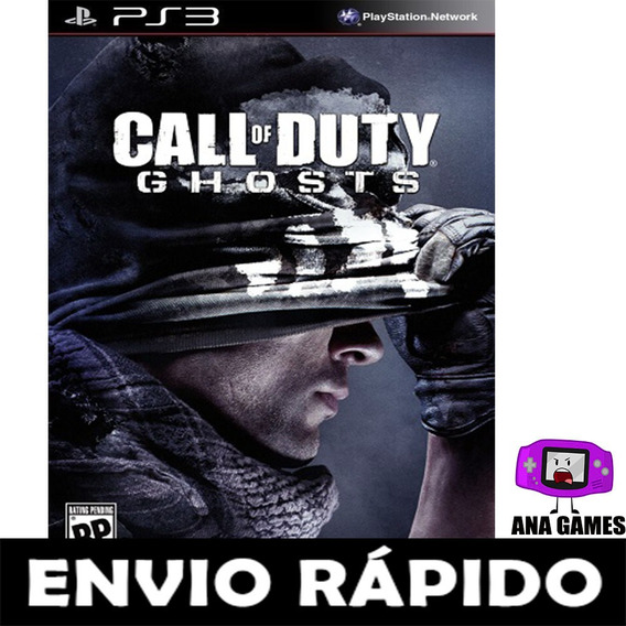 Call Of Duty Ghosts Ps3 - Jogo Digital