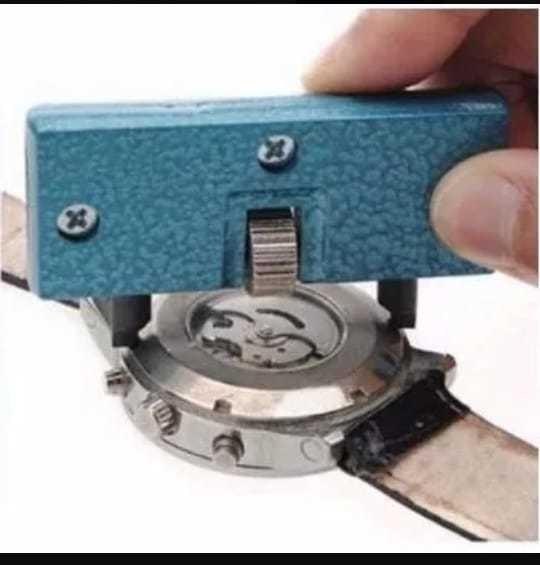 Ferramenta Relojoeiro Abrir Tampa 60mm Barato Corpo Plastico