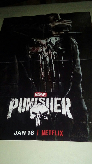 Póster Punisher. Serie Netflix.