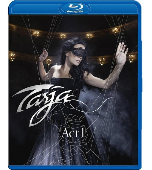Tarja Turunem - Act 1 - Blu Ray Importado. Lacrado