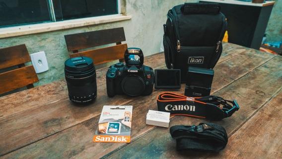Canon T5i + Lente18-135mm +bolsa +cartão 16gb + Frete Grátis
