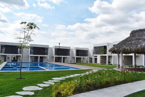 Casas Con Alberca En Residencial Aquasol En Morelos