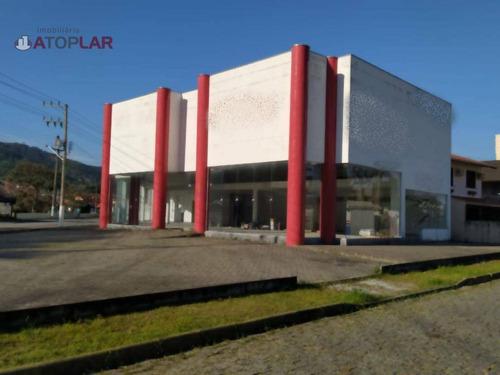 Imagem 1 de 12 de Sala Para Alugar, 650 M² Por R$ 25.000,00/mês - Perequê - Porto Belo/sc - Sa0122