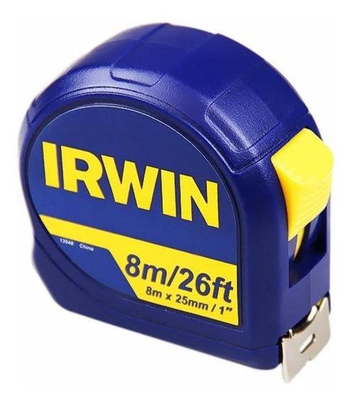 Trena Standard 8 Metros Com Trava Iw13948 Irwin