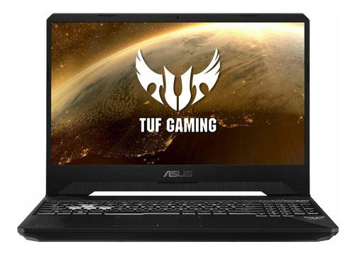 "Imagen 1 de 5 de Notebook Asus TUF FX505GT negra 15.6"", Intel Core i5 9300H  8GB de RAM 512GB SSD, Nvidia GeForce GTX 1650 1920x1080px Windows 10 Home"