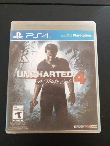 Uncharted 4 Ps4 Fisico
