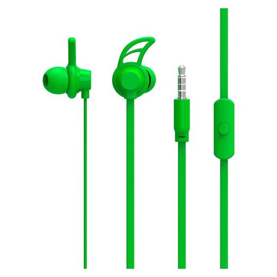Fone De Ouvido Sport Neon Series Hook Verde - Ph176
