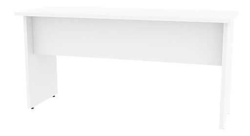 Mesa De Escritório 1,80 X 0,60 Mdp Branco Ou Preto Promoção