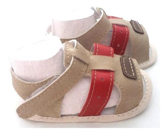 Sandália Masculina Infantil Para Bebê- 012426