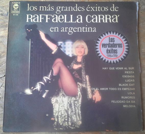 Disco De Vinilo Grandes Éxitos Raffaella Carra