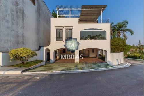 Belíssima Casa De Condomínio Em Bairro Nobre De São Paulo. - Mb10531