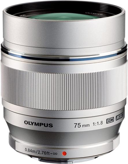 Lente Olympus M.zuiko 75mm F/ 1.8 Para M4/3 Panasonic +brind