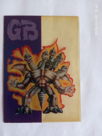 Monstruos De Bolsillo Tarjeta Gran Bestia