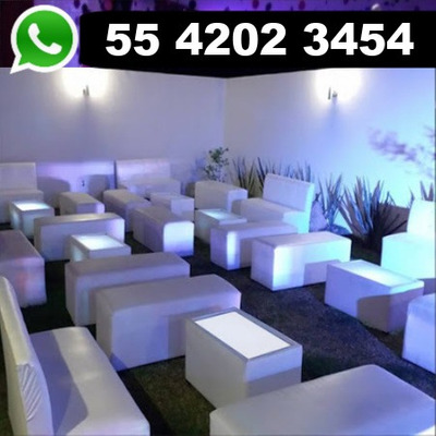 Renta Salas Lounge + Dj Para Fiestas Gratis Fuente Chocolate