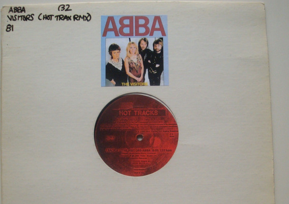 Abba The Visitors 12 Vinilo Usa 82 Mx