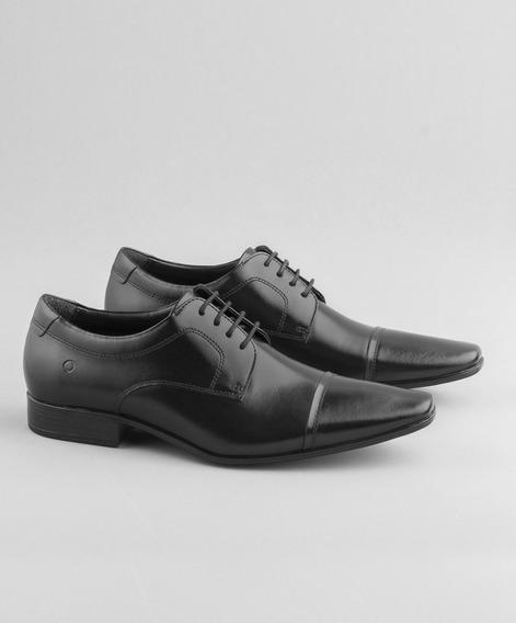 Sapato Metropolitan Aspen Preto Democrata