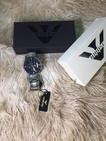 Relógio Nibosi Com Cronógrafo E Marcador De Data Promoção!!!