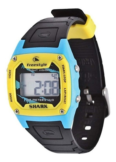 Relógio Fs81229 Digital Shark Classic Solid Freestyle