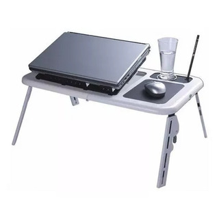 Mesa Portatil Para Notebook Netbook 2 Cooler Base Mouse Pad Premium