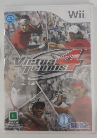 Jogo Virtua Tennis 4 Nintendo Wii - Original - Lacrado